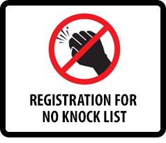Registration for No Knock List